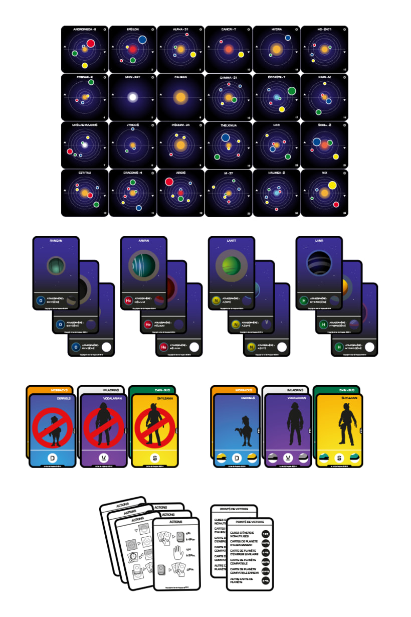 Boardgame : Cosmic Rodger 0