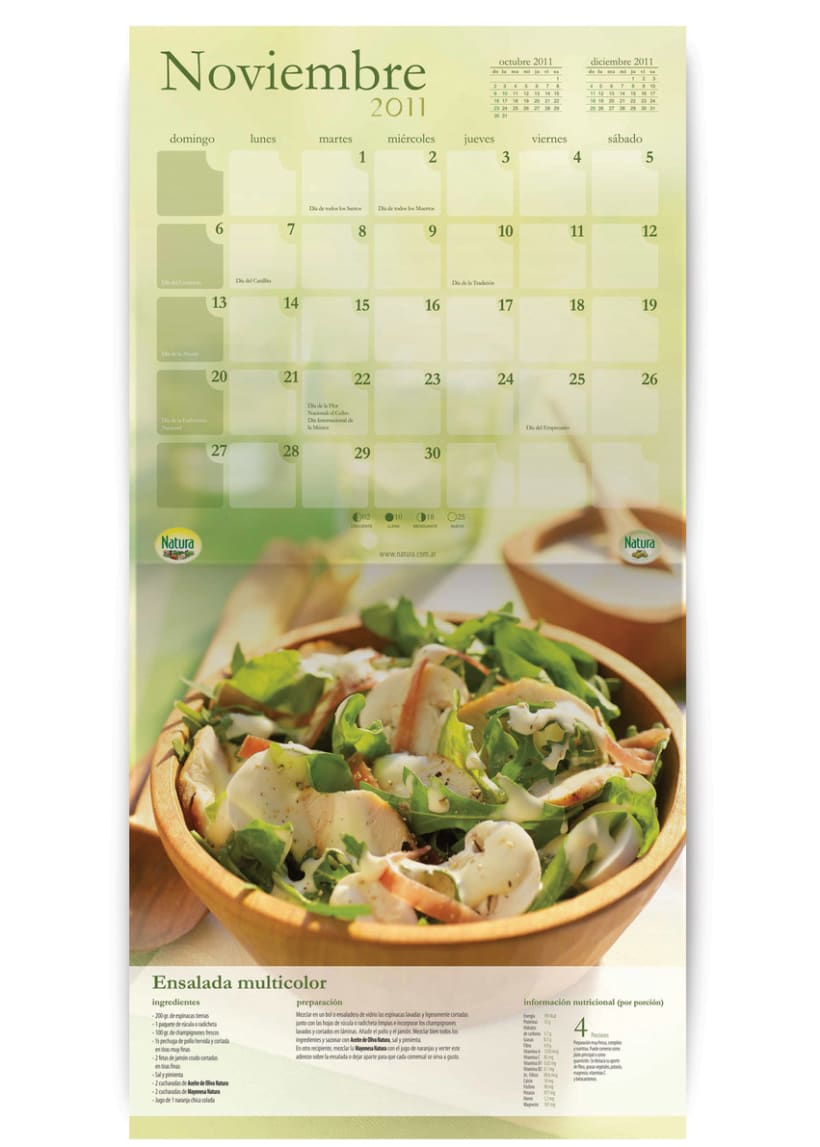 Calendario Natura  3