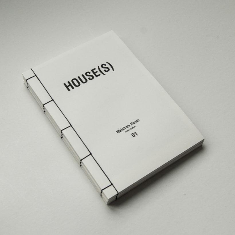 HOUSE(S) Fanzine para WAÏF 0