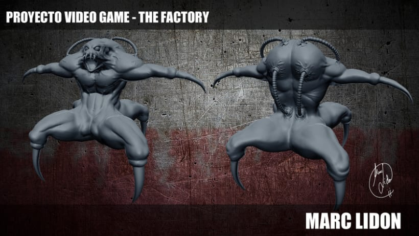 Video Game THE FACTORY 0
