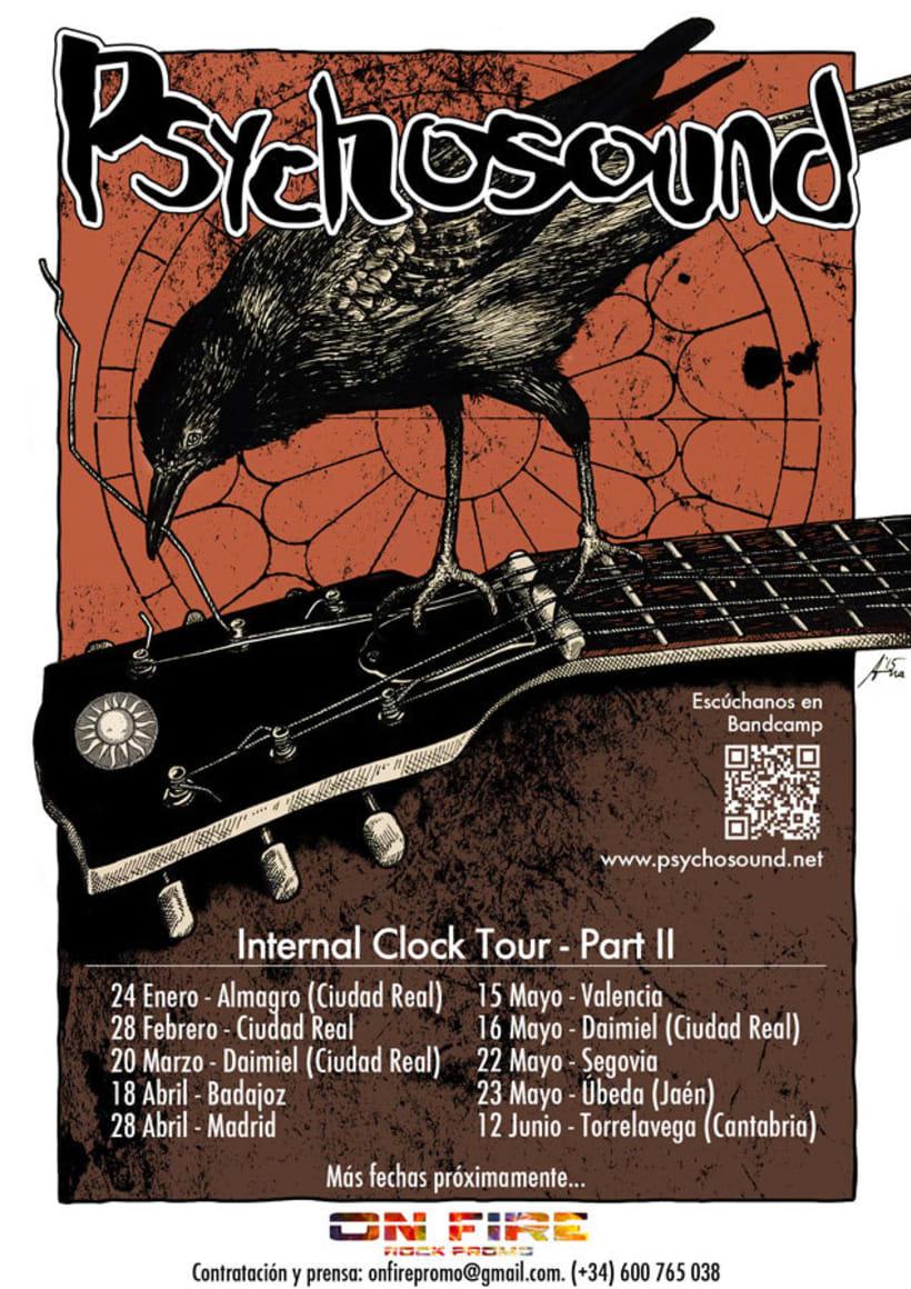 Psychosound Tour Poster 4
