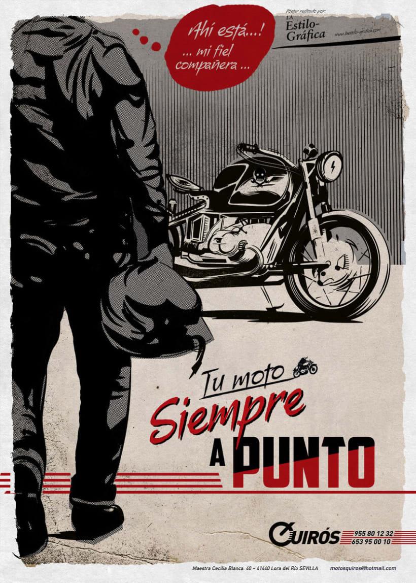Motos QUIRÓS — Poster -1
