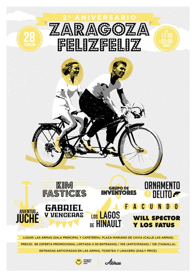 2º Aniversario Zaragoza Feliz Feliz 0