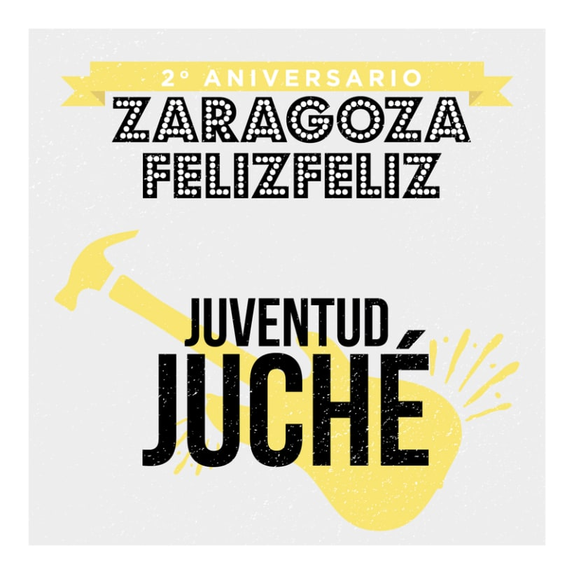 2º Aniversario Zaragoza Feliz Feliz 2