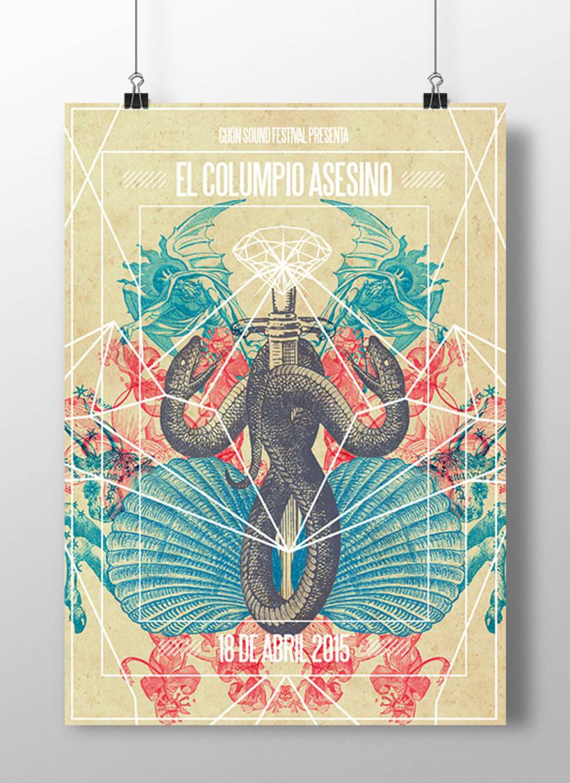 Colección Carteles Tributo 2015 1