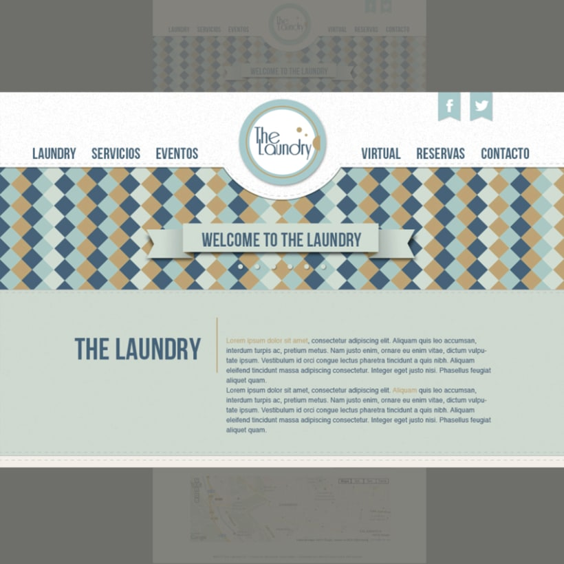 "Manual Identidad Corporativa ""The Laundry"" - Gráficas - Exterior - Web  7"
