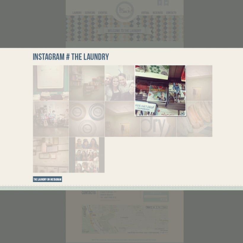 "Manual Identidad Corporativa ""The Laundry"" - Gráficas - Exterior - Web  8"