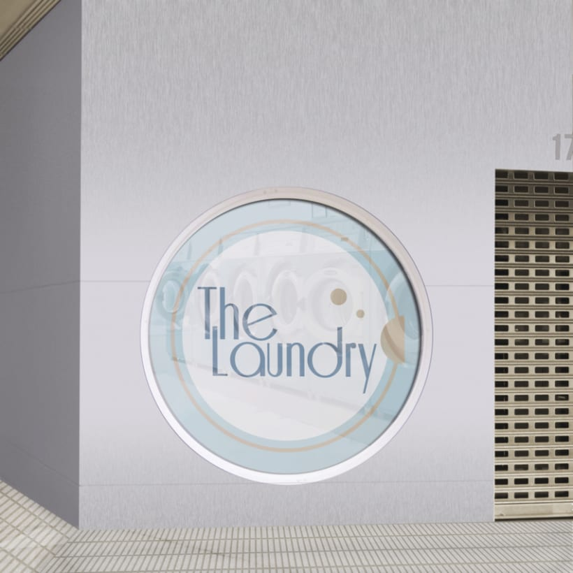 "Manual Identidad Corporativa ""The Laundry"" - Gráficas - Exterior - Web  6"