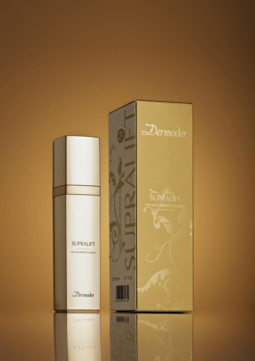 Diseño de Packaging para la marca DERMODER 0