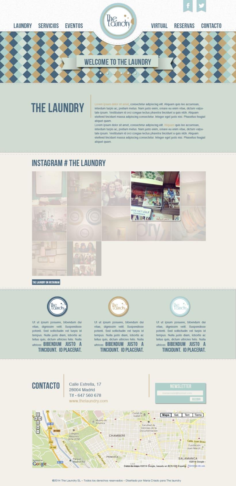 The Laundry - Diseño Web -1
