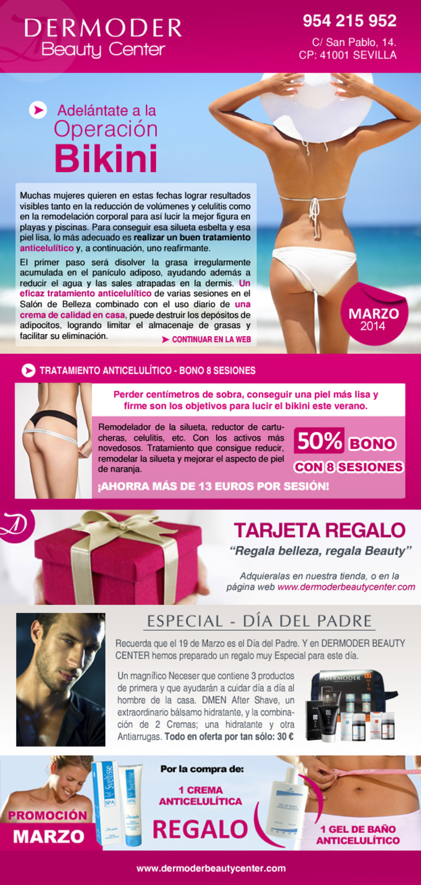 NEWSLETTER DERMODER BEAUTY CENTER -1