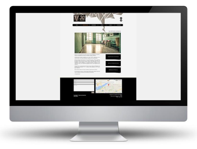 Web Agrupación Fotográfica Extremeña 3