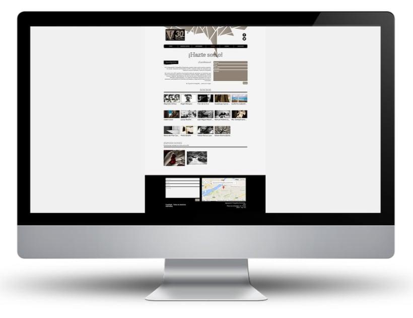 Web Agrupación Fotográfica Extremeña 5