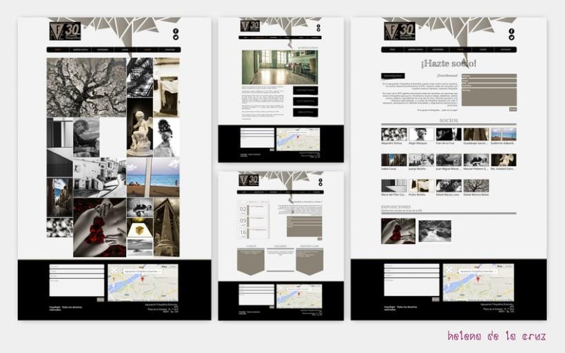 Web Agrupación Fotográfica Extremeña 0