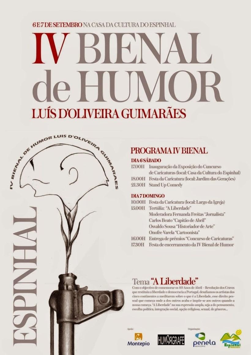 IV BIENAL de HUMOR Luis D´Oliveira Guimaraes. Penela 2014. Portugal 1