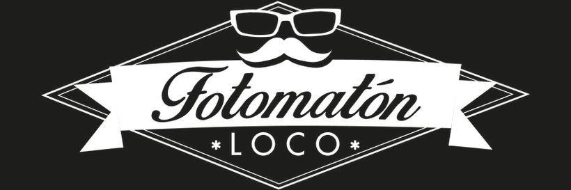 Diseño logotipo y rotulación maquina fotomatón para Fotomatónloco -1