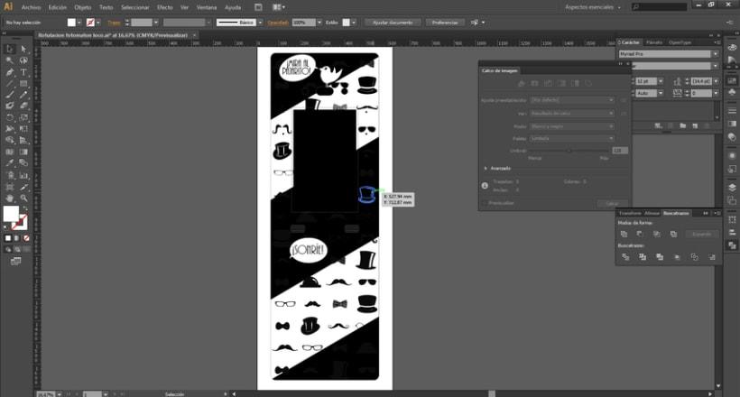 Diseño logotipo y rotulación maquina fotomatón para Fotomatónloco 0