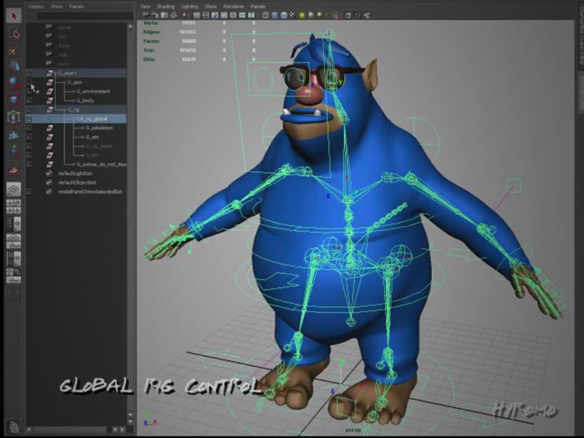 3D Character Setup with Maya 1
