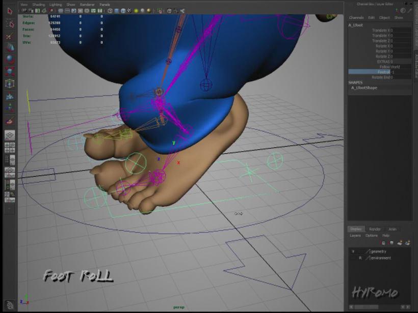 3D Character Setup with Maya 2