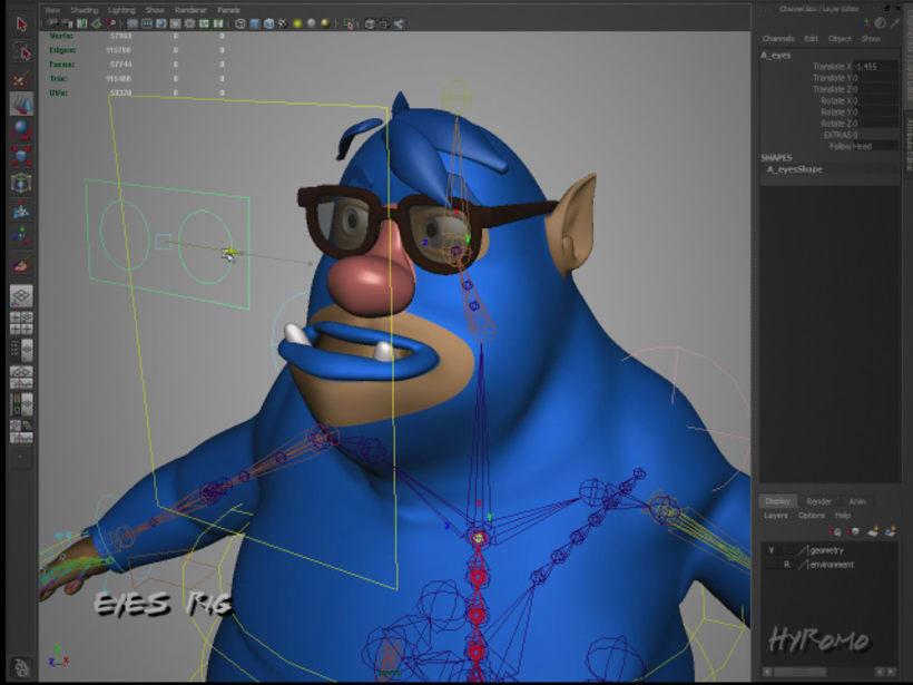 3D Character Setup with Maya 4