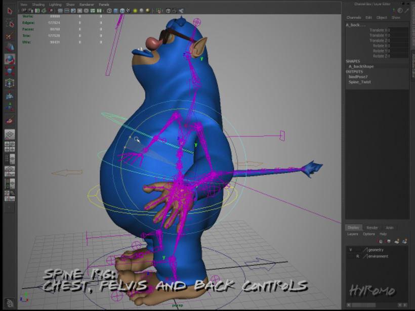 3D Character Setup with Maya 5
