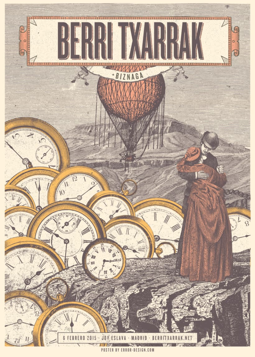 BERRI TXARRAK Poster (+ Proceso serigrafía) 0