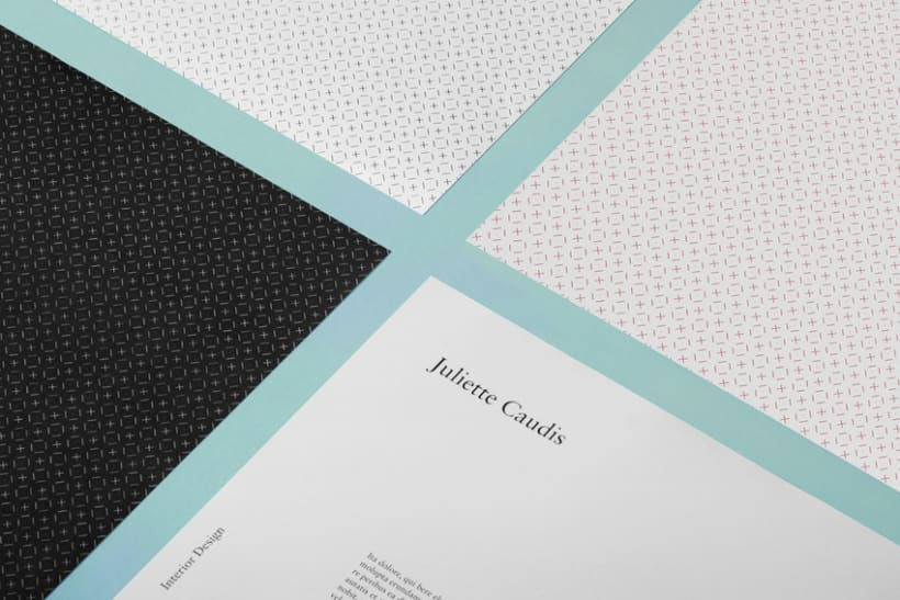 Juliette Caudis Interior Design Branding Domestika Adorable Interior Design Branding