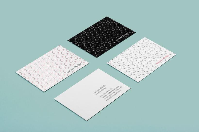 Juliette Caudis - Interior Design Branding 1