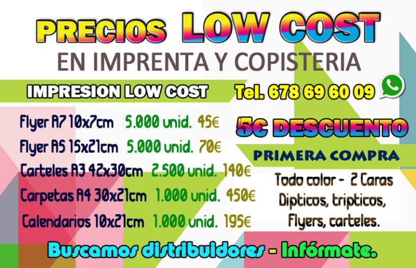 Buscamos distribuidores. 1.000 tarjetas doble cara a todo color. Plastificadas en brillo. Precio cliente 25€. Infórmate. 1