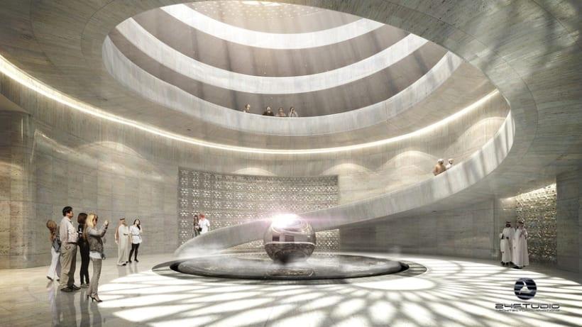 Museo en Qatar 0