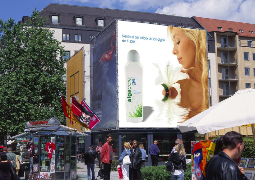 algacare. Línea cosmética de produtos a base de algas marinas -1