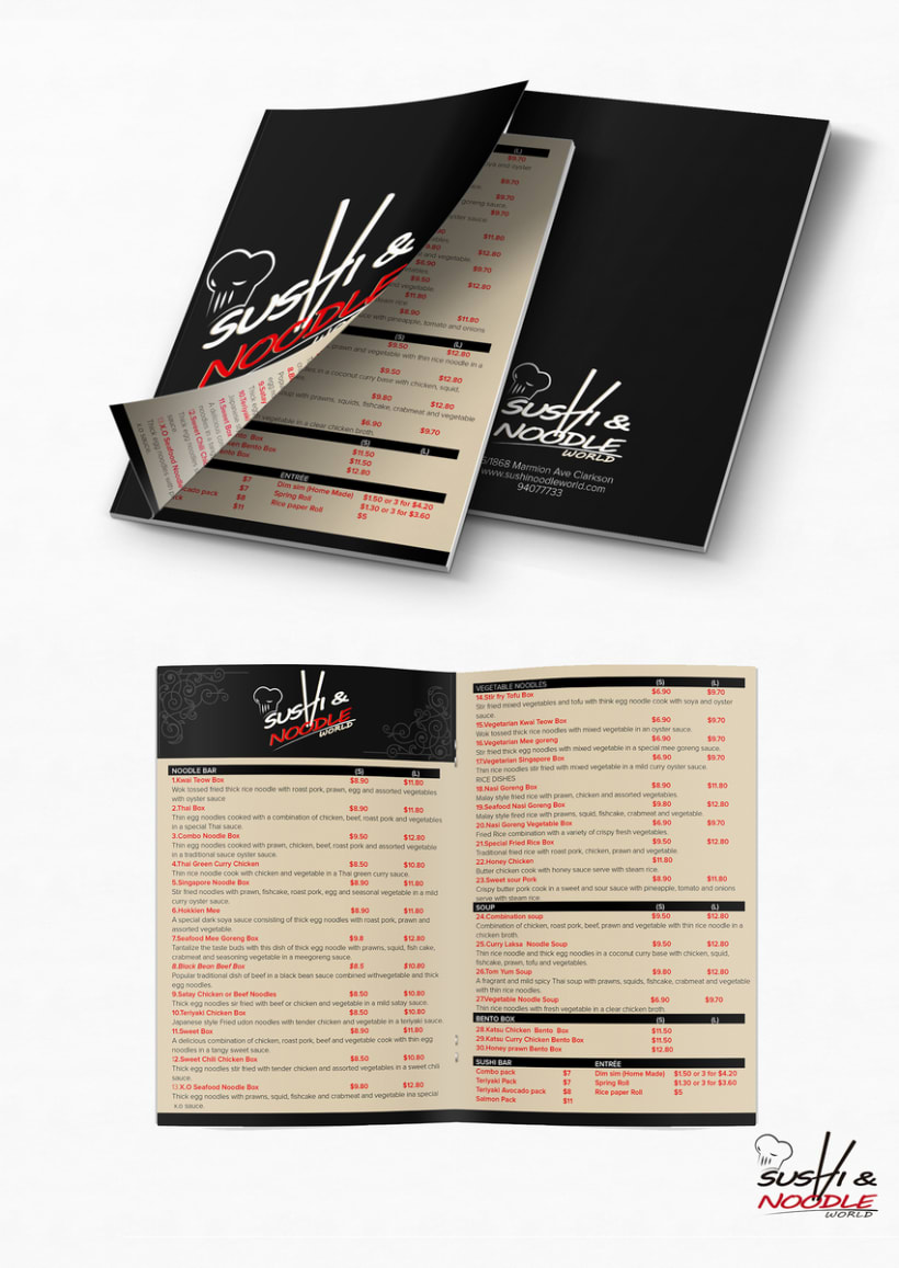 N&S BROCHURE/MENU -1