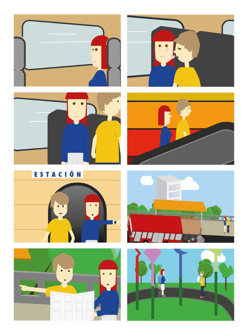 Storyboard: Direcciones 0