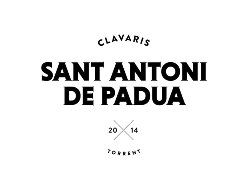 Clavaris Sant Antoni de Padua 2014 1