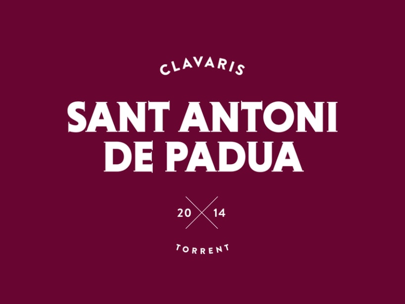 Clavaris Sant Antoni de Padua 2014 2
