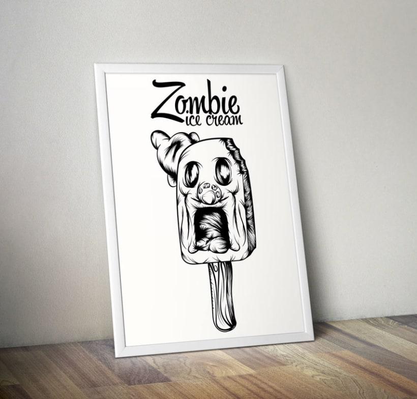 Zombie ice cream 9