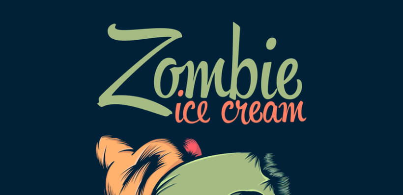 Image result for zombie and ice cream