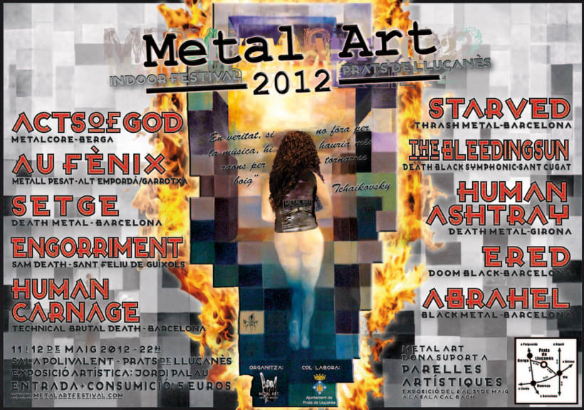 Proposta cartell Metal Art 2012 0