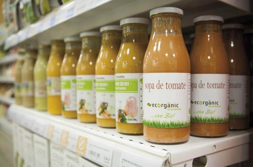 Fotografía de producto in situ · Ecorganic 1
