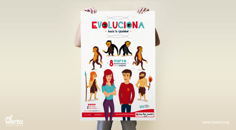 CRUZ ROJA ESPAÑOLA · Campaña EVOLUCIONA 1