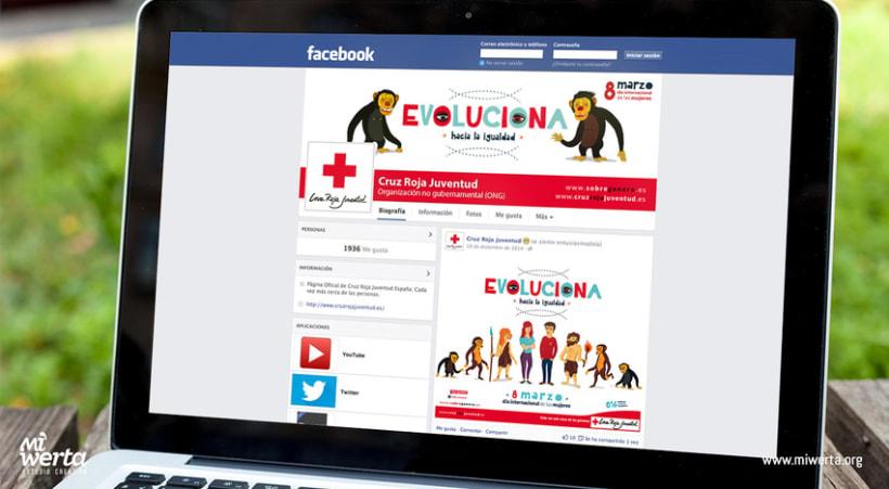 CRUZ ROJA ESPAÑOLA · Campaña EVOLUCIONA 7
