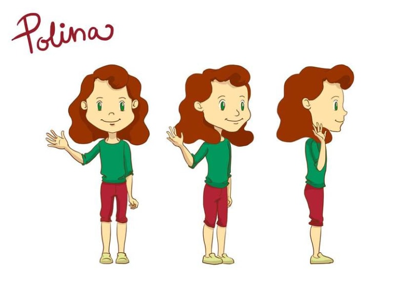 Polina y sus amigos -1