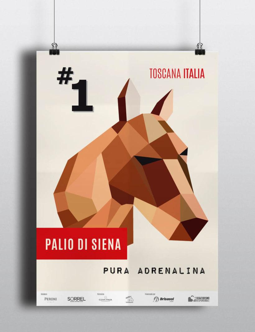 POSTER Palio Di Siena 0