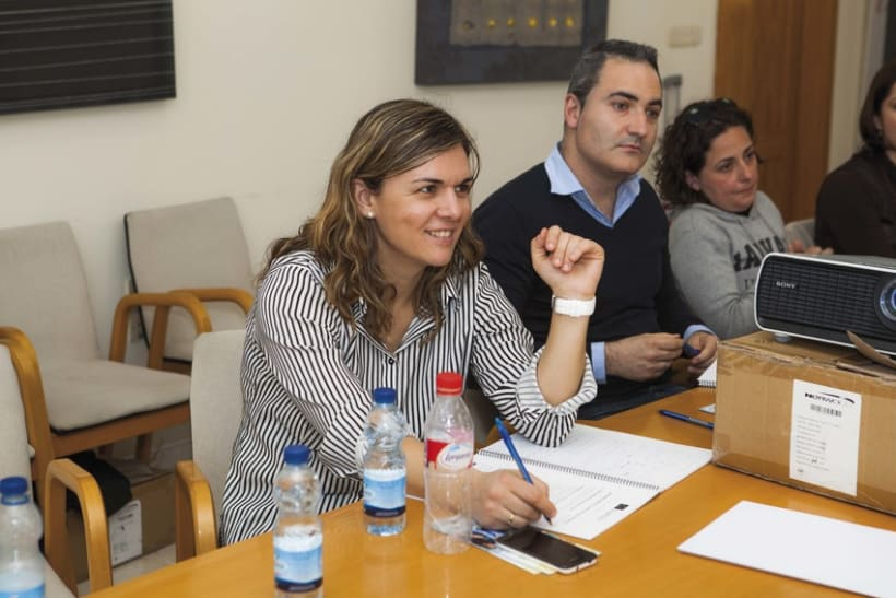 Fotografía eventos empresariales · Ponencias Erasmus+ 1