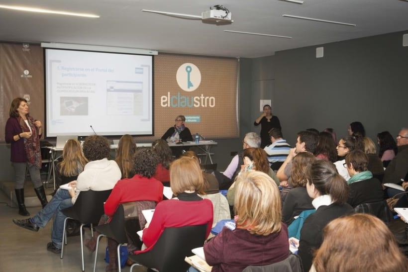 Fotografía eventos empresariales · Ponencias Erasmus+ 8