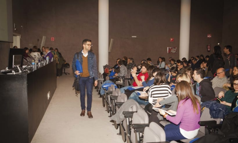 Fotografía eventos empresariales · Ponencias Erasmus+ 13