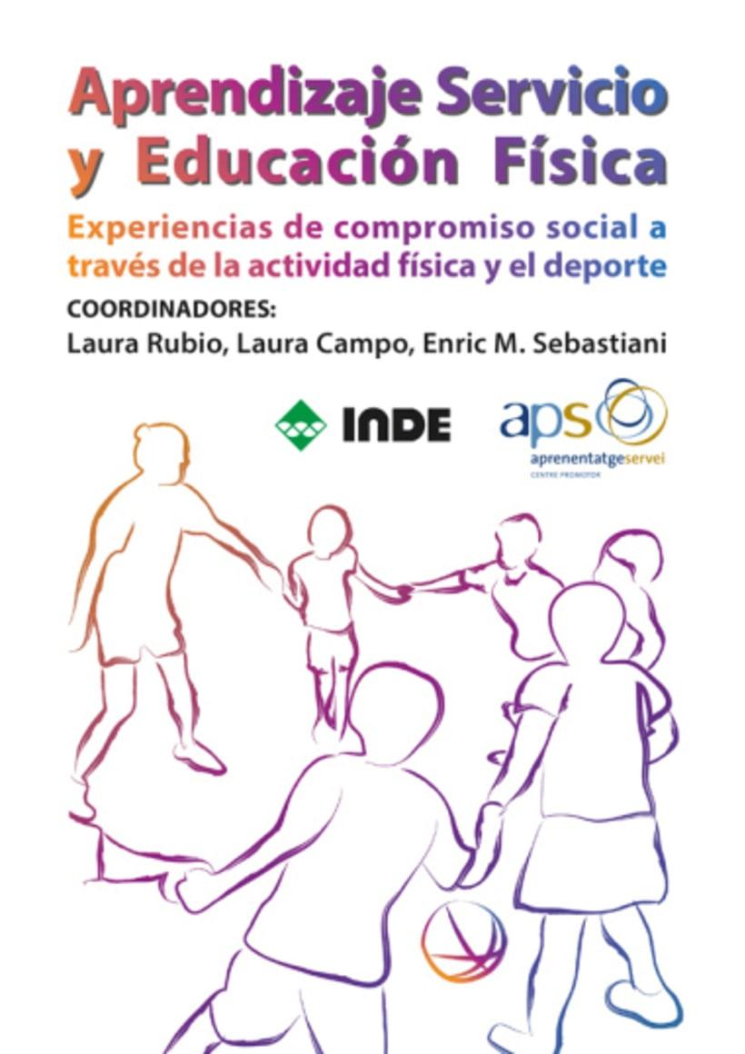 """Portada de """"Aprendizaje Servicio y Educación Física"""" 0"""