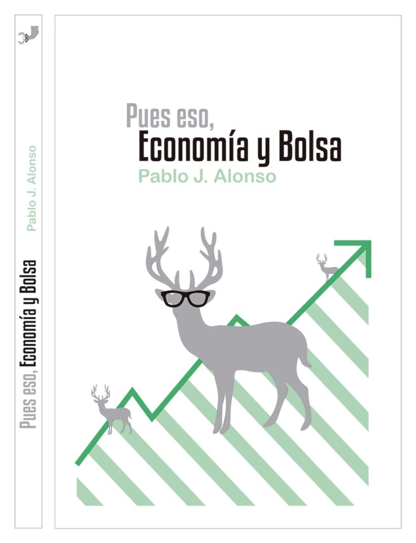 Pues eso, economía y bolsa (diseño portada de libro) 1
