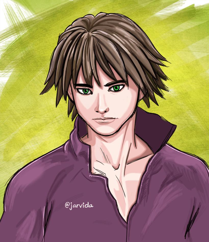 Manga boy 1