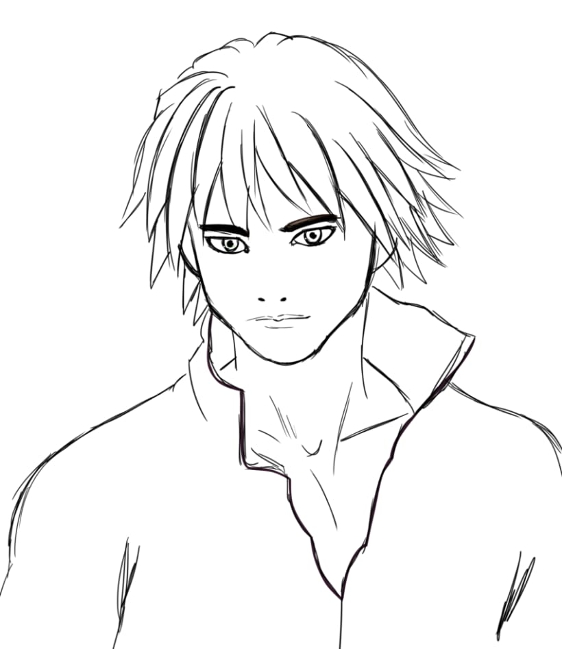 Manga boy 0